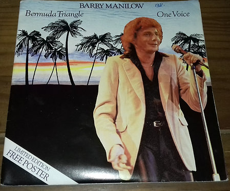 "Barry Manilow - Bermuda Triangle / One Voice (7"", Single, Ltd) (Arista)"