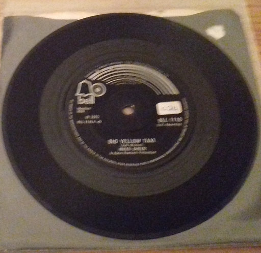 """Ireen Sheer - Big Yellow Taxi (7"""") (Bell Records)"""