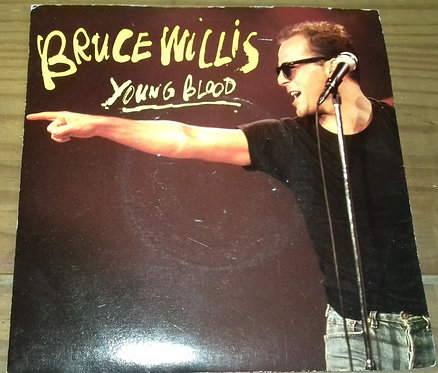 """Bruce Willis - Young Blood (7"""") (Motown)"""