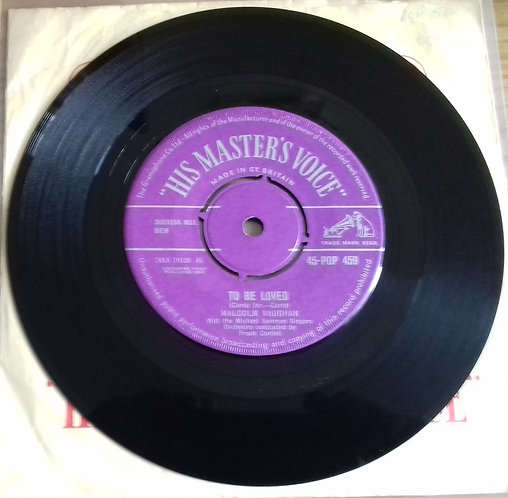 """Malcolm Vaughan - To Be Loved (7"""") (His Master's Voice)"""