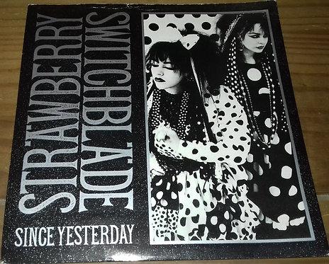 "Strawberry Switchblade - Since Yesterday (7"", Single, Sil) (Korova, Korova)"