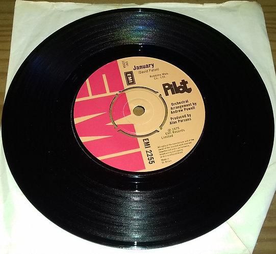 "Pilot - January (7"", Single, Kno) (EMI)"