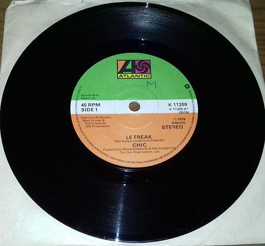 """Chic - Le Freak / Savoir Faire (7"""", Single, Gre) (Atlantic)"""