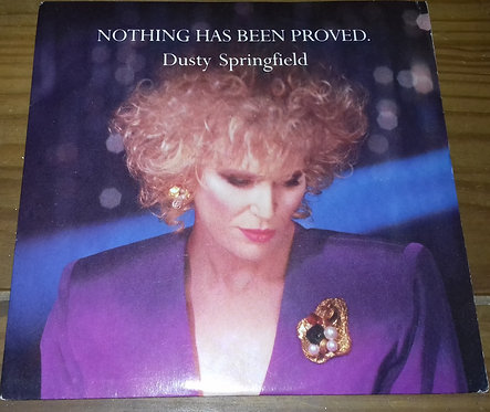 """Dusty Springfield - Nothing Has Been Proved (7"""", Single) (Parlophone)"""