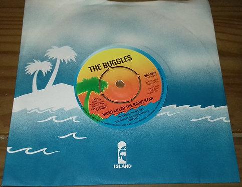 "Buggles* - Video Killed The Radio Star (7"", Single) (Island Records)"