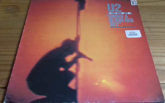U2 - Under A Blood Red Sky (Live) (LP, MiniAlbum) (Island Records, Island Record