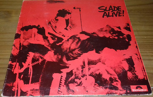 Slade - Slade Alive! (LP, Album, Gat) (Polydor)