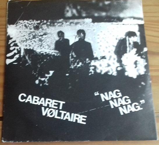 """Cabaret Voltaire - Nag Nag Nag (7"""", Single) (Rough Trade)"""