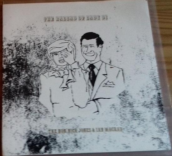 "The Hon. Nick Jones And Ian Macrae - The Ballad Of Lady Di (7"") (Stiff Records)"