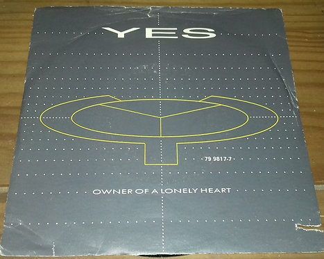 """Yes - Owner Of A Lonely Heart (7"""", Single) (ATCO Records)"""