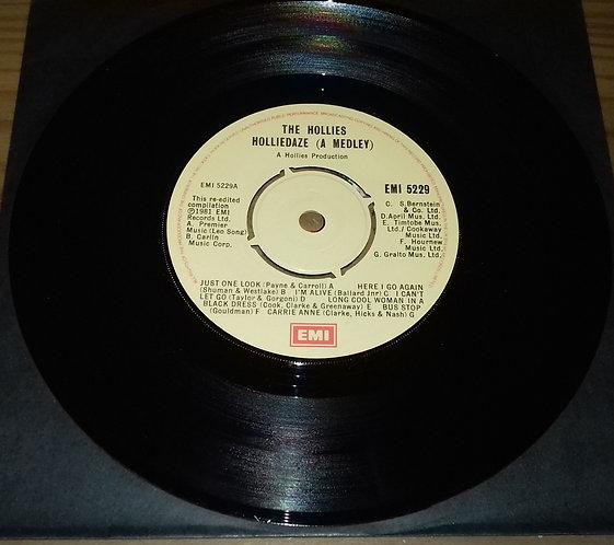 "The Hollies - Holliedaze (A Medley) (7"") (EMI)"