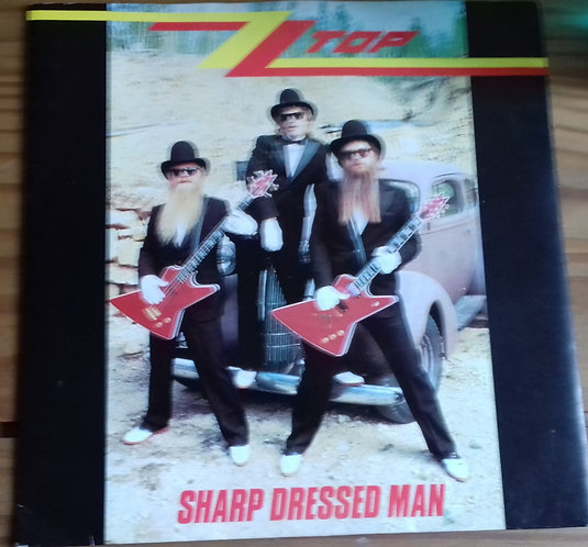 "ZZ Top - Sharp Dressed Man (7"", Single, Blu) (Warner Bros. Records, Warner Bros."
