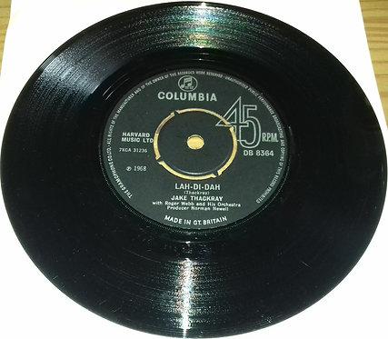"""Jake Thackray - Lah-Di-Dah / The Black Swan (7"""", Single) (Columbia)"""