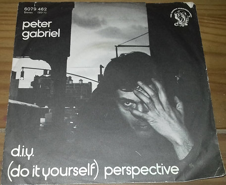 """Peter Gabriel - D.I.Y. (Do It Yourself) / Perspective (7"""", Single) (Philips, Cha"""