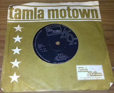 """The Jackson 5 - ABC (7"""", Single, Sol) (Tamla Motown)"""