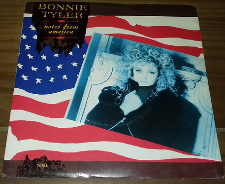 """Bonnie Tyler - Notes From America (7"""") (CBS)"""