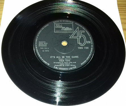 """Four Tops - It's All In The Game (7"""", Single, Sol) (Tamla Motown)"""
