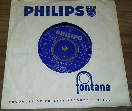 """Brian Hyland - Run Run Look And See / Why Did You Do It? (7"""", Single, Mono) (Ph"""