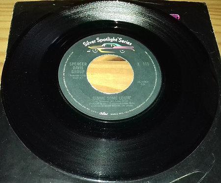 "Spencer Davis Group* - Gimme Some Lovin' / Keep On Running (7"", Single, RE) (Cap"