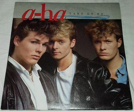 "a-ha - Take On Me (7"", Single, Sil) (Warner Bros. Records, Warner Bros. Records"