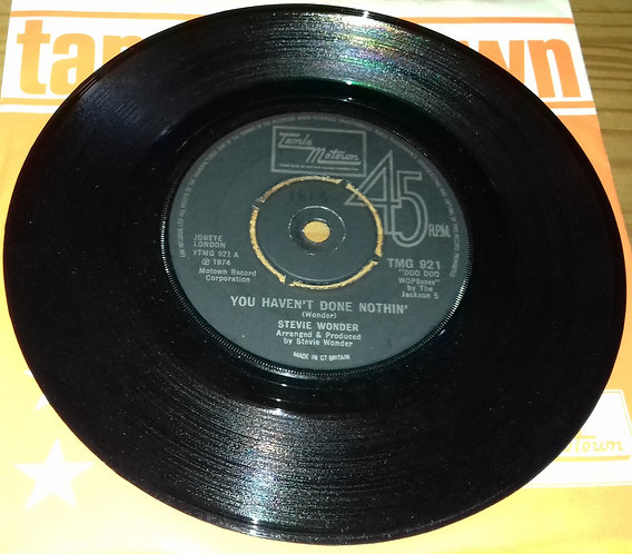 "Stevie Wonder - You Haven't Done Nothin' (7"", Single) (Tamla Motown)"