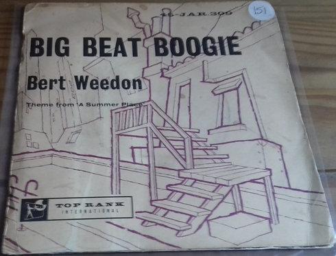 """Bert Weedon - Big Beat Boogie (7"""") (Top Rank International)"""