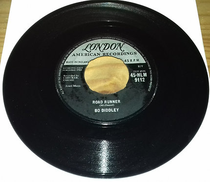"Bo Diddley - Road Runner (7"", Single) (London Records, London American Recording"