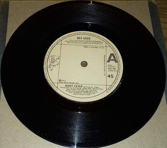 "Bee Gees - Night Fever (7"") (RSO, RSO)"