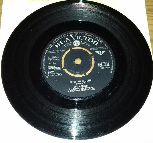 """The Monkees - Daydream Believer (7"""", Single) (RCA Victor)"""