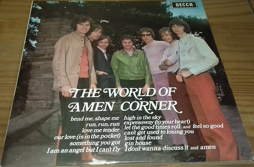 Amen Corner - The World Of Amen Corner (LP, Comp) (Decca)