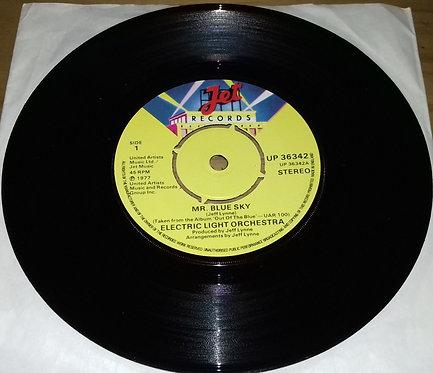 """Electric Light Orchestra - Mr. Blue Sky (7"""", Single) (Jet Records)"""
