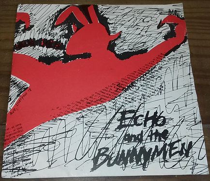 """Echo And The Bunnymen* - The Pictures On My Wall (7"""", Single, RE, Inj) (Zoo Rec"""