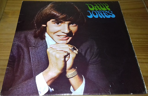 Davy Jones - Davy Jones (LP, Album, Mono) (Pye Records)