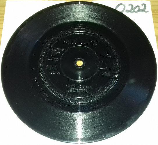"""Roxy Music - Over You (7"""", Single, Bla) (Polydor)"""