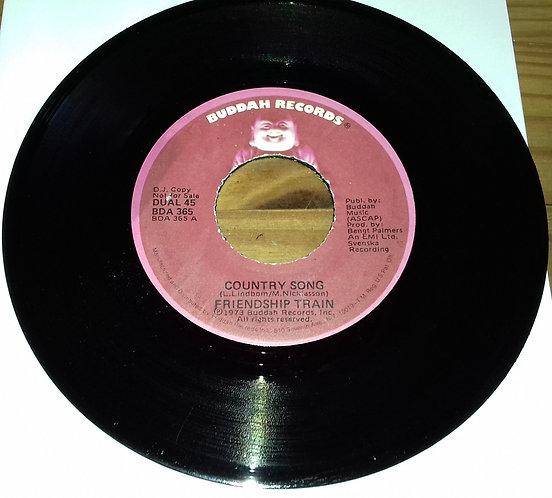 "Friendship Train - Country Song (7"", Single, DJ ) (Buddah Records)"