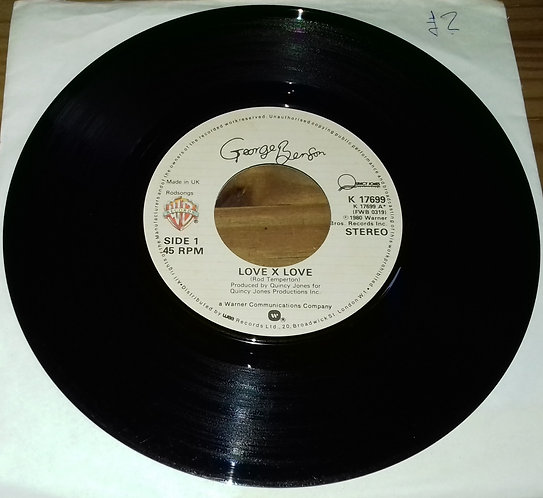 "George Benson - Love X Love (7"", Single, Lar) (Warner Bros. Records)"