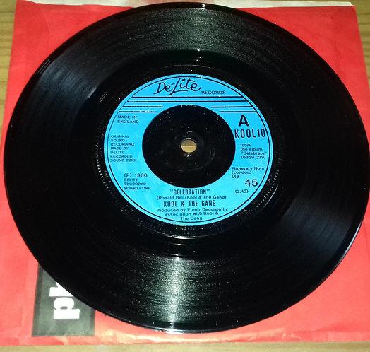 "Kool & The Gang - Celebration (7"", Single, Blu) (De-Lite Records)"