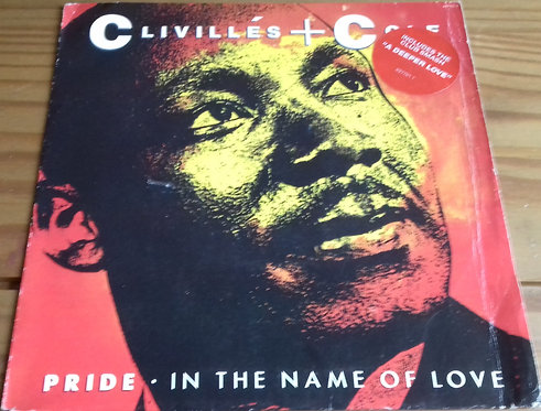 "Clivillés & Cole - Pride (In The Name Of Love) (7"", Single) (Columbia)"