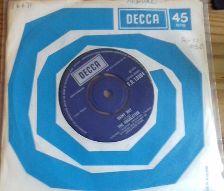 """The Angelettes - Don't Let Him Touch You (7"""", Single) (Decca)"""