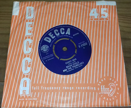 """Brian Poole And The Tremeloes* - Candy Man (7"""", Single) (Decca)"""