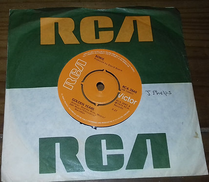 """David Bowie* - Golden Years (7"""", Single) (RCA Victor, RCA Victor)"""
