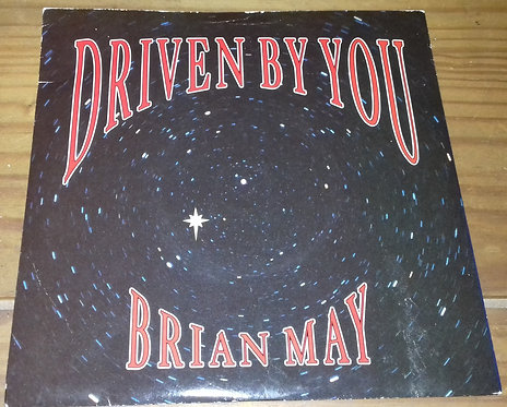 """Brian May - Driven By You (7"""", Single) (Parlophone, Parlophone)"""