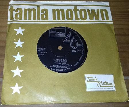 "Diana Ross - Surrender (7"", Single, Sol) (Tamla Motown)"