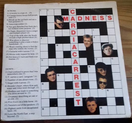 """Madness - Cardiac Arrest (7"""", Single, Pin) (Stiff Records)"""