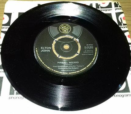 "Elton John - Pinball Wizard (7"", Single, Kno) (DJM Records (2))"