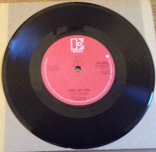 "The Doors - Light My Fire (7"", Single, RE, Red) (Elektra)"