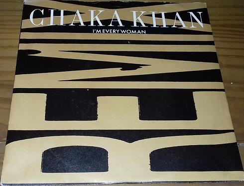 """Chaka Khan - I'm Every Woman (Remix) (7"""", Single, Pap) (Warner Bros. Records, Wa"""
