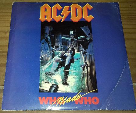 "AC/DC - Who Made Who (7"", Single, Pap) (Atlantic, Atlantic)"