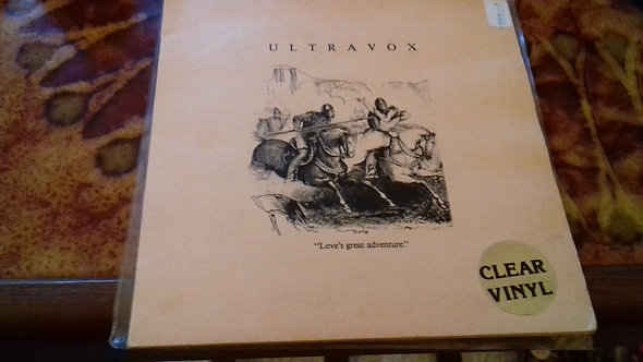 "Ultravox - Love's Great Adventure (7"", Single, Clear vinyl) (Chrysalis)"