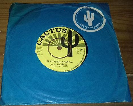 "Rupie Edwards - Ire Feelings (7"", Single) (Cactus)"